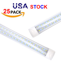 8 Piedi LED Lights 8ft Led Tube Light Light V-Shape T8 Integration High Luminosità 2FT 3ft 4ft 5ft 6ft 52W 56W 8ft Daylight 4000-4500K