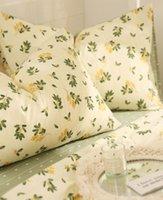EUROPEO AMERICANO CAMPO DE Ropa de cama Adulto Adolescente Niño Chica, Algodón Twin Queen Full Reina Hogar Textil Hoja de cama Caja de almohada Cubierta de edredón