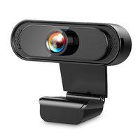 1080P HD Веб-камера Веб-камера Встроенный шумоподавление Микрофон 30 ° угол просмотра Веб-камера Camara Web Cam для ноутбука настольный 40 шт. DHL