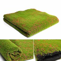 Fiori decorativi Corone 1 PZ 100 * 100 cm Falso Moss Simulazione artificiale Pianta Pianta Pianta Parete Art Giardino verde Durabile