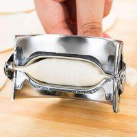 Nouveaux outils de pâtisserie écologique des outils de pâte en acier inoxydable machine de fabricant de pâte de pâte de pâte de pâte à pâte à pâte de boulette de boulette de moulage de moules de cuisine CCD3502