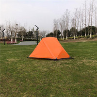 Orange Color MSR Hubba Hubba NX 1 شخص خيمة الظهر خفيفة الوزن، خيمة Ripstop للماء، خفيفة 1 رجل