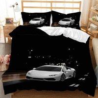 Moderne Vintage Automobilmotor 3D Bedruckte Bettbezug 3pcs Quilt Cover Bettwäsche Set Königin King Cleaner Einzelne Doppelbettwäsche