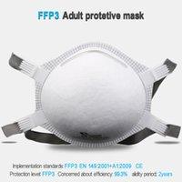 Laianzhi FFP3 CE كوب نوع قناع قناع واقية المتاح PM2.5 أقنعة ضارة 99٪ نظافة أغطية الرأس أقنعة الفم حزمة الأصلي