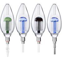510 Plus Kit tubi in vetro con 510 titanio per unghie al quarzo per unghie in ceramica per unghie in ceramica per unghie per il tubo di vetro DAB Glass Bong