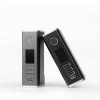 Лидирующий ZQ Essent DNA75C Box Mod Совместимость с 21700/18650 батареи 75W Vape Mods фабрики Цена в запасе
