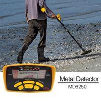 Détecteur de métal Professionnel Tianxun Détecteur de métaux souterrain haute performance MD6250 Trois Mode de détection Pièces de monnaie Bijoux All1