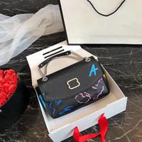 Pink Sugao Crossbody сумка плечевой цепной сумка сумка сцепления дизайнерские сумки роскошные женские сумки с коробкой граффити письма высокое качество