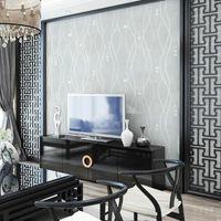 Tapeten wasserdichte 3d tapete nahtloses textil walldecke vlies schlafzimmer wohnzimmer fernseher hintergrund dekoration solide moderne malen