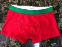 섹시한 악어 underpants 망 레드 편지 디자이너 속옷 복서 남자 프랑스 스타일 남자 콘테 톤 패션 남자의 권투 선수 6 색