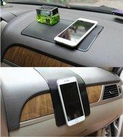سيارة التصميم المضادة للانزلاق حصيرة مكافحة تخطي سيارة الوسادة هلام الوسادة ملصقا للسيارة فورد الحلي الديكور اكسسوارات QC24