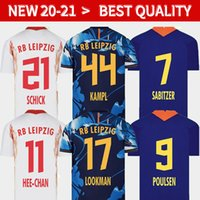 20 21 새로운 축구 유니폼 홈 멀리 세 번째 Werner Camiseta Forsberg Maillot Halstenberg Sabitzer 2019 축구 셔츠 키트 Cunha