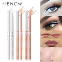 Göz Farı / Liner Kombinasyonu Çok Amaçlı Makyaj Kalem Beyaz Eyeliner Kapatıcı Alt Gözüşü Dönebilen Otomatik Çekirdek Out Liner Su Geçirmez TS