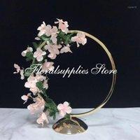 ديكور الزفاف الهندسي زهرة المعادن زهرية محددة حامل الزهور الزهور 10pcs / lot1