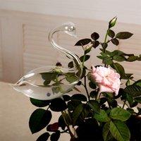 Flower de jardín Auto regadera Contenedor para jardín Planta Dispositivo de riego Automático para interiores Cisne de cisne de cisne de cisne Spill