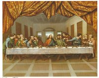 Catholic Paintings The LAST SUPPER Home Decoration Jesus wit...