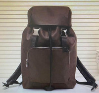 Кожа 2021 Новая сумка для качества M43409 Zack рюкзак мужская спортивная сумочка высокий 7JWP бренд рюкзаки мода дизайнерская сумка настоящий большой рюкзак KLGB