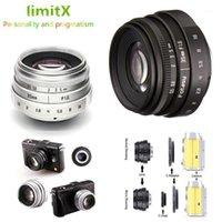 35mm F1.6 CCTV Lens C Mount For Sony A6500 A6400 A6300 A6000 A5100 A5000 NEX-6 NEX-7 NEX-5T NEX-5R NEX-3N APS-C E-Mount NEX1
