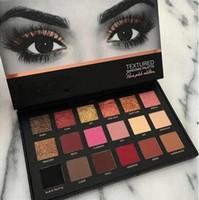 Spedizione gratuita Eye Shadow Palette 18 colori Shimmer Matte Eyeshadow Pro Eyes Trucco Cosmetici Eyeshadow 1pcs / lot