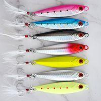 Metallo cast jig cucchiaio vib fishig esche shore colata jigging piombo pesce mare basso pesca esca artificiale esca artificiale tackle