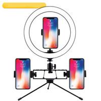 Bracket Desktop Fill Light Telefono cellulare Live Ring Light Anchor Selfie Fotografia Photo Tripod LED Luce di bellezza