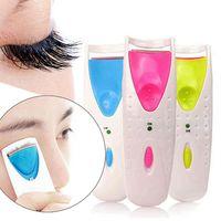 Новый электрический автоматический бигуди для ресниц Длительный прочный отапливаемый ресница для глаз ресницы для глаз Curler Makeup Curling Tool для женщин