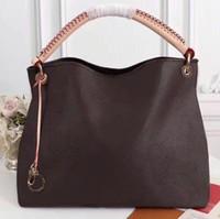العلامات التجارية جلد طبيعي artsy حمل سيدة حقيبة crossbody نوعية ممتازة مصممي الفاخرة حقيبة يد سلسلة حقائب النساء سلسلة