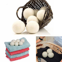 Wool Dryer Balls Premium Reusable Natural Fabric Softener St...