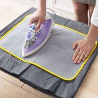 40x90cm paño de plancha de alta temperatura cubierta de planchado de planchado aislamiento protector del hogar contra tableros de almohadillas de presión de paño de malla