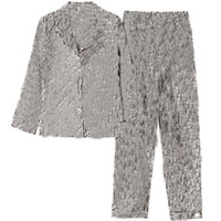Зимняя осень с длинным рукавом Pajamas наборы старинные буквы напечатаны мужчины женщин спящая одежда стильная личность очарование унисекс ночная одежда