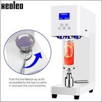Xeoleo latas máquina de selagem animal de estimação / garrafa de alumínio máquina de vedação 55mm café / leite / frasco de bebida selador 330/500 / 650ml latas seler1