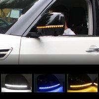 2 adet Dinamik Direksiyon Sinyal LED Dikiz Aynası 2016-2019 Nissan Devriyesi Y62 Için Flaş Gösteren