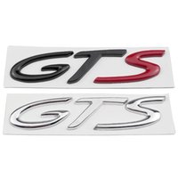 1 PCS 3D 자동차 스타일 GTS 후면 엠 블 럼 부트 트렁크 자동차 배지 Porsche Cayenne Cayman Panamera Macan 911 718 928 901 930