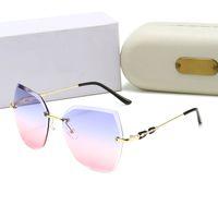 148 Nuovo di alta qualità Brand Designer Designer di lusso Occhiali da sole Donne Occhiali da sole Occhiali da sole rotondi Occhiali da sole Gafas de Sol Mujer Lunette