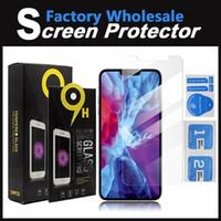 2020 Un nuevo protector de pantalla transparente para Samsung A50 A60 A70 vidrio templado para iPhone 12 Mini 11 Pro MAX X XR XS MAX