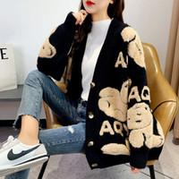 Женский стилист свитера свитер для девочка-подростка мешковатая панель вышивка тонкая шерсть длинный джемпер тянуть кашемировую женскую одежду