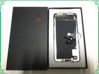 GX OLED الشاشة مع خواتم الكاميرا الجمعية LCD لينة الصلب ل iphone x xs ماكس 11 برو OLED شاشة تعمل باللمس GX محول الأرقام