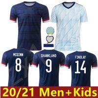 2020 Ecosse Soccer Jersey 2021 Robertson Fraser Naismith McGregor Christie Forrest McGinn McGinn Adult Homme + Kit Kit Chemise de football
