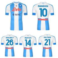 2020 2021 Napoli Maglia Gara Jersey di calcio speciale 20 21 Napoli Milik Insigne Mertens Koulibaly Quarto Camicia da calcio