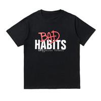 Nuovo arrivo Mens Stylist T Shirt Streetwear Uomo Donne Hip Hop Manuale manutore corto Stilista Tees Lettera Stampa