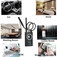 Smart Home Capteur 1MHZ-6.5GHZ K18 Multi-fonction Detector Caméra GSM Audio Bug Finder GPS Signal Signal Lens RF Tracker Détectez les produits sans fil