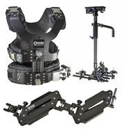 Kwam laden 2.5-15 kg camera video Steadicam carbon stabilizers + low-shooting