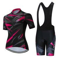 Set da corsa 2021 Teleyi Pro Team Bike Cycling Suit Set Iam Ropa Ciclismo Mountain Equitazione Strada da donna Uniforme