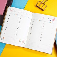 Notepads 2021 Kawaii جدول مخطط ورقة ملاحظة كتاب 365 أيام أسبوعي شهري المنظم سنوي 32K دفتر