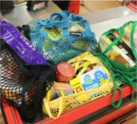 Shopping Bags Handbags Shopper Tote Mesh Net Woven Cotton Bags String Reusable Fruit Storage Bags Handbag Reusabl bbyFhO ladyshome