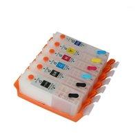CEDE CANON PIXMA TS8160 TS8260 TS9160 TS6160 TS6260 TR7560 TR8560 TS706 TS9560 TSRefillable Mürekkep Kartuşu PGI-680 CLI-681 PB1