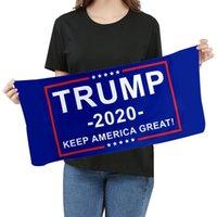 ستوكات ترامب منشفة الوجه 35 * 75CM الأمريكية الانتخابات السريعة الجافة ماصة منشفة رياضية جعل أمريكا كبيرة مرة أخرى مناشف CCF399