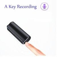 Gravador de voz digital mini sonoro de longa distância 16GB jogador de microfone menor