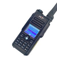 TYT walkie-talkie DMR MD-2020 VHF UHF dual band IP67 impermeabile TDMA 5Wadigital portatile radio bidirezionale