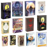 الكثير من الأساليب المتطلعات لعبة الساحرة رايدر سميث وايت shadowscapes البرية التارو سطح السفينة بطاقات مع نسخة ملونة مربع اللغة الإنجليزية